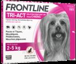 Acheter Frontline Tri-act Solution pour spot-on chien 2-5kg 3Pipettes/0,50ml à VILLENAVE D'ORNON