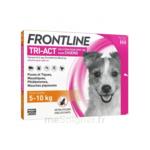 Acheter Frontline Tri-act Solution pour spot-on chien 5-10kg 3Pipettes/1ml à VILLENAVE D'ORNON